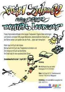 Theaterworkshop 18-22.04.2017