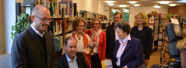 """Projekt """"Sprachräume"""" wird Minister Dr. Stamp vorgestellt"""