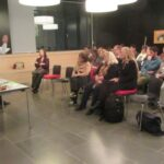 Lesung mit Maren Pfeifer und Hidir Celik; Publikum